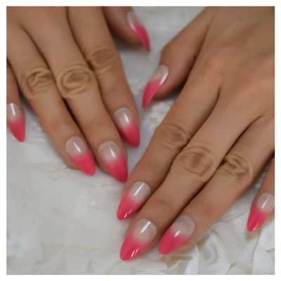 Red Press-on nails