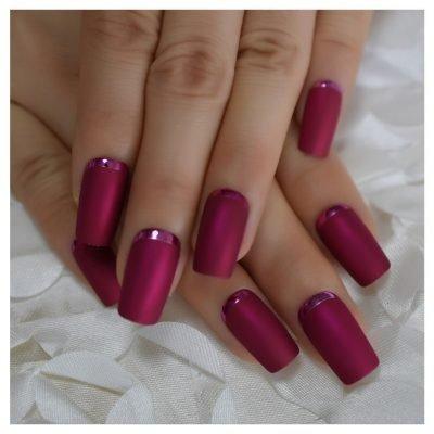 Medium Pink Press-on Nail