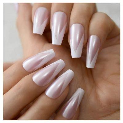 Long false nails