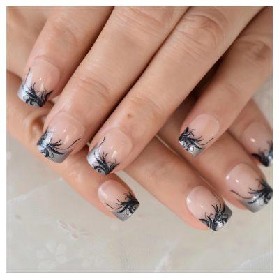 Short press-on nails