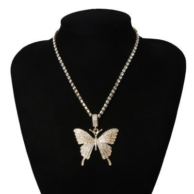 Butterfly necklaces for women