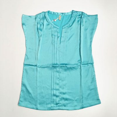 Teal Colored Womens Casual Top