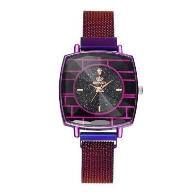 Womens Purple wrist watch