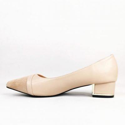 Low block heel womens professional shoes