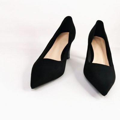 Womens Black work heels