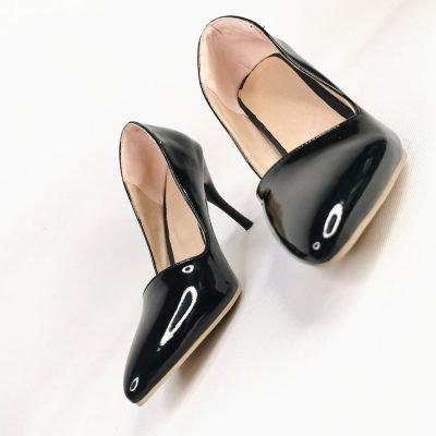 Big feet big feet womens black work shoes