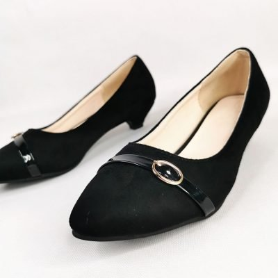 Low heel work shoe for big feet womens
